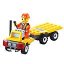 ราคาถูก บล็อกอาคาร-Building Blocks สำหรับเป็นของขวัญ Building Blocks Square 3-6 ปี Toys