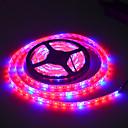 billiga LED-ljusslingor-JIAWEN 5m 300 lysdioder 5050 SMD 1 x 5A nätadapter Multifärg Vattentät 100-240 V 1set / IP65