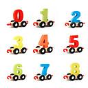 ราคาถูก ของเล่นทางคณิตศาสตร์-Muwanzi Building Blocks ของเล่นคณิตศาสตร์ Train ที่เข้ากันได้ Legoing เด็กผู้ชาย Toy ของขวัญ