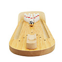 billiga brädspel-Minibowling Brädspel Bowlingleksaker Mini Professionell Trä Originell Barn Vuxna Pojkar Flickor Leksaker Present
