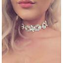 povoljno Choker ogrlice-Žene Choker oglice beskraj dame Luksuz Moda Euramerican Legura Zlato Pink Ogrlice Jewelry Za Vjenčanje Party Cosplay nošnje