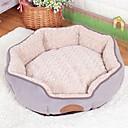 ราคาถูก ที่นอนและผ้าห่มสำหรับสุนัข-แมว สุนัข เบาะที่นอน ที่นอน ผ้าห่มเตียง เสื่อ & แผ่นปู Goose Down สีเทา กาแฟ