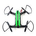 Χαμηλού Κόστους Τ/Κ Quadcopters & Με Πολλαπλούς Έλικες-RC Ρομποτάκι Flytec T18 4 Κανάλι 6 άξονα 2,4 G Με κάμερα HD 720P Ελικόπτερο RC με τέσσερις έλικες FPV Φωτισμός LED Επιστροφή με ένα