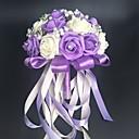 baratos Bouquets de Noiva-Bouquets de Noiva Buquês / Outros / Flor Artificial Casamento / Festa / Noite Material / Renda 0-20cm