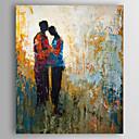 povoljno Apstraktno slikarstvo-Hang oslikana uljanim bojama Ručno oslikana - Sažetak Sažetak Uključi Unutarnji okvir / Prošireni platno