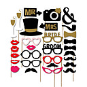 ราคาถูก ของปาร์ตี้-งานแต่งงาน / โอกาสพิเศษ วัสดุ / กระดาษการ์ดแข็ง เครื่องประดับจัดงานแต่งงาน วันหยุด Spring, Fall, Winter, Summer