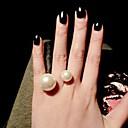 povoljno Modno prstenje-Žene pljuska Ring Zlato Srebro Legura dame Moda Euramerican Dnevno Jewelry