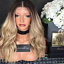 povoljno Perike s ljudskom kosom-Remy kosa Perika s prednjom čipkom bez ljepila Lace Front Perika Beyonce stil Brazilska kosa Tijelo Wave Ombre Perika 130% Gustoća kose s dječjom kosom Ombre Prirodna linija za kosu Afro-američka