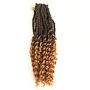 ราคาถูก วิกผมเปีย-Braiding Hair ความหงิก Pre-ห่วง Braids โครเชต์ ผมต่อแท้ ผม Kanekalon 100% Kanekalon 30 ราก / แพ็ค Braids ผม Ombre ทุกวัน