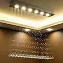 זול מנורות שולחן-6-אור תאורה להתקנה Ambient Light כרום קריסטל קריסטל 110-120V / 220-240V לבן חם / לבן / GU10