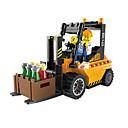ราคาถูก บล็อกอาคาร-ENLIGHTEN รถของเล่น Building Blocks ของเล่นชุดก่อสร้าง ของเล่นการศึกษา ยก Forklift ทุกเพศ เด็กผู้ชาย เด็กผู้หญิง Toy ของขวัญ