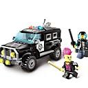 ราคาถูก บล็อกอาคาร-ENLIGHTEN รถของเล่น Building Blocks ของเล่นชุดก่อสร้าง รถยนต์ Police ที่เข้ากันได้ Legoing รถตำรวจ ทุกเพศ เด็กผู้ชาย เด็กผู้หญิง Toy ของขวัญ / ของเล่นการศึกษา