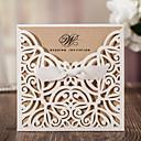 povoljno Pozivnice za vjenčanje-Zamotajte & Pocket Vjenčanje Pozivnice Pozivnice Classic Style Reljefni papir