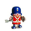 billige Magnetiske leker-Robot Trekk-opp-leker Kontor / Bedrift Maskin Robot Trommesett Smijern Jern Vintage Retro Rød Deler Unisex Leketøy Gave