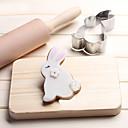 Χαμηλού Κόστους Εργαλεία cookie-κουνέλι μπισκότα κοπής ανοξείδωτο χάλυβα μπισκότα κέικ μούχλα εργαλεία ψησίματος κουζίνας