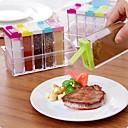 Χαμηλού Κόστους Βάζα & Κουτιά-1pc Κουτιά κουζίνας Πλαστικό Εύκολο στη χρήση Οργάνωση κουζίνας