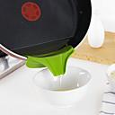 Χαμηλού Κόστους Αποθηκευτικός χώρος κουζίνας-χωνί σιλικόνης χύστε το στόμιο ολίσθησης στη διαρροή κουζινών στρογγυλή θήκη κουζίνας ακροφύσια εργαλεία κουζίνας
