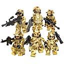 Χαμηλού Κόστους Building Blocks-DILONG Τουβλάκια Στρατιωτικά μπλοκ Τουβλάκια μινιατούρες 20-480 pcs Στρατιωτικό Στρατιώτης Πόλεμος ΙΙ συμβατό Legoing Παιχνίδια Δώρο / Εκπαιδευτικό παιχνίδι