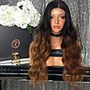 billige Abstrakte malerier-Remy Menneskehår Halvblonder uten lim Blonde Forside Parykk Beyonce stil Brasiliansk hår Krop Bølge Nyanse Parykk 150% Hair Tetthet med baby hår Ombre-hår Naturlig hårlinje Afroamerikansk parykk 100