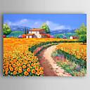 povoljno Apstraktno slikarstvo-Hang oslikana uljanim bojama Ručno oslikana - Pejzaž Sažetak Platno