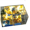 ราคาถูก ปลอกหมอน-Model Building Kits DIY เฟอร์นิเจอร์ บ้าน Plastics ทำด้วยไม้ คลาสสิก ทุกเพศ Toy ของขวัญ