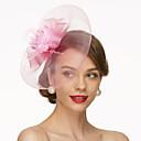 Χαμηλού Κόστους Καπέλα και Διακοσμητικά-Δίχτυ Γοητευτικά / Καπέλα / Καλύμματα Κεφαλής με Φλοράλ 1pc Γάμου / Ειδική Περίσταση Headpiece