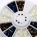 billiga Bergkristall&Dekorationer-Nail Smycken Nail Art Design Mode Dagligen