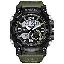 Χαμηλού Κόστους Θήκες / Καλύμματα για Huawei-SMAEL Ανδρικά Αθλητικό Ρολόι Μοδάτο Ρολόι Στρατιωτικό Ρολόι Ιαπωνικά Ψηφιακή Συνθετικό δέρμα με επένδυση σιλικόνη Μαύρο / Κόκκινο / Πορτοκαλί 50 m Ανθεκτικό στο Νερό Ημερολόγιο Χρονογράφος
