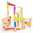 ราคาถูก ชุดรางหินอ่อน-ชุดรางหินอ่อน ทำด้วยไม้ สำหรับเด็ก Toy ของขวัญ 1 pcs