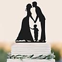 ราคาถูก ของตกแต่งหน้าเค้ก-อุปกรณ์แต่งหน้าเค้ก วันเกิด การแต่งงาน คุณภาพสูง พลาสติก งานแต่งงาน วันเกิด กับ 1 PVC Bag