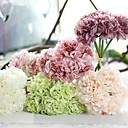 ราคาถูก ปลอกหมอน-ดอกไม้ประดิษฐ์ 1 สาขา รูปแบบสไตล์ยุโรป Peonies ดอกไม้วางบนโต๊ะ