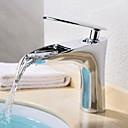 billige Puter-Baderom Sink Tappekran - Foss Krom Centersat Enkelt Håndtak Et Hull