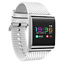 Χαμηλού Κόστους Smart Wristbands-Έξυπνο βραχιόλι για iOS / Android Συσκευή Παρακολούθησης Καρδιακού Παλμού / Μέτρησης Πίεσης Αίματος / Θερμίδες που Κάηκαν / Μεγάλη Αναμονή / Οθόνη Αφής / Ανθεκτικό στο Νερό / Βηματόμετρο