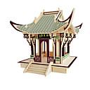 ราคาถูก จิ๊กซอว์3D-3D-puslespill Model Building Kits แบบไม้ อาคารที่มีชื่อเสียง เฟอร์นิเจอร์ บ้าน DIY ทำด้วยไม้ คลาสสิก สำหรับเด็ก ทุกเพศ เด็กผู้ชาย เด็กผู้หญิง Toy ของขวัญ