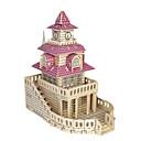 ราคาถูก โมเดลและชุดโมเดล-3D-puslespill / Puslespill / Model Building Kits อาคารที่มีชื่อเสียง / เฟอร์นิเจอร์ / บ้าน DIY / การจำลอง ทำด้วยไม้ คลาสสิก สำหรับเด็ก ทุกเพศ ของขวัญ