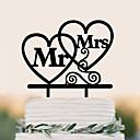 Χαμηλού Κόστους Διακοσμητικό Τούρτας-Διακοσμητικό Τούρτας Γενέθλια Γάμος Υψηλή ποιότητα Πλαστική ύλη Γάμου Γενέθλια με 1 Τσάντα PVC