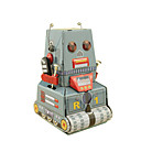 ราคาถูก ของเล่นไขลาน-Robot Trekk-opp-leker เรทโทร ถัง เครื่องจักร Robot ร็อทไอร์ออน เหล็ก วินเทจ Retro ทุกเพศ Toy ของขวัญ