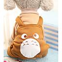 povoljno Odjeća za fitness, trčanje i jogu-Pas Kostimi Kaputi Jumpsuits Zima Odjeća za psa purpurna boja Crvena Kava Kostim Pamuk Životinja Zabava Cosplay Ležerno / za svaki dan XS S M L XL