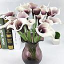 billige Blomstrete dynetrekk-Kunstige blomster 10 Gren Europeisk Calla-lilje Bordblomst