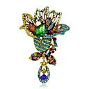 ราคาถูก เข็มกลัด-สำหรับผู้หญิง เด็กผู้หญิง เข็มกลัด Flower แฟชั่น Euramerican เข็มกลัด เครื่องประดับ หลากสี สำหรับ โอกาสพิเศษ งาน / ปาร์ตี้ ทุกวัน พิธี ที่มา