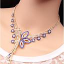 povoljno Komplet nakita-Žene Komplet nakita Cvijet Jedinstven dizajn Naušnice Jewelry Duga / Zelen / Plava Za Vjenčanje Party Special Occasion godišnjica Rođendan