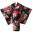 povoljno Anime kostimi-Cosplay Suits / Kimono / More Accessories Inspirirana Hell Girl Ai Enma Anime Cosplay Pribor Pojas / Kimono Dlaka Ostali materijal Žene novi / vruć Halloween kostime