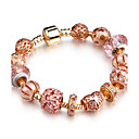 billiga Jewelry Set-Dam Pärlarmband damer Mode Massiv mässing Armband Smycken Rosguld Till Party Födelsedag Vardag