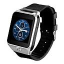 ราคาถูก หลอดไฟ-YYGW06 ผู้ชาย ดูสมาร์ท Android WIFI 3G Waterproof ขอสัมผัส GPS ตรวจสอบอัตรการเต้นของหัวใจ การควบคุม APP / เผาผลาญแคลอรี่ / โหมดสแตนบายยาว / โทรแบบไม่ใช้มือ / เครื่องมือวัดจำนวนก้าวที่เดิน