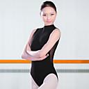 billige Ballettantrekk-Ballet Trikoter Dame Trening Spandex Ermeløs Høy