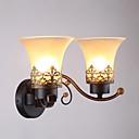 povoljno Zidni svijećnjaci-Suvremena suvremena Zidne svjetiljke Glass zidna svjetiljka 110-120V / 220-240V 40 W / E26 / E27