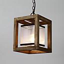 billiga Tvättställsblandare-geometriska Hängande lampor Fluorescerande Målad Finishes Trä / Bambu Glas Ministil 110-120V / 220-240V / E26 / E27