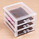 olcso Ékszertárolás-Smink eszközök Cosmetics Storage Smink Akril Négyszög Napi Kozmetika Tartás, ápolás