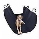 ราคาถูก ผมต่อแท้-แมว สุนัข ที่คลุมเบาะรถยนต์ สัตว์เลี้ยง ผู้ขนส่ง กันน้ำ Portable สายปรับได้ / สามารถพับเก็บได้ สีพื้น Plaid / Check แบล็ค Grid