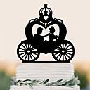 povoljno Svadbeni ukrasi-Figure za torte Visoka kvaliteta plastika Vjenčanje Rođendan s 1 PVC vrećica